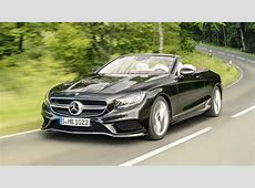 MercedesBenz SClass Coupe and Cabriolet facelift revealed