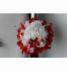 Bouquet De La Mariée : beau bouquet mari e rond avec belles roses plumes et ~ Melissatoandfro.com Idées de Décoration