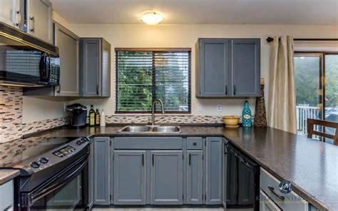 ways  style gray kitchen cabinets