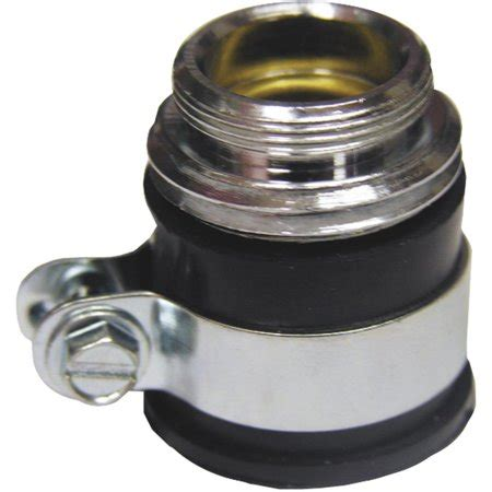 faucet hose adapter lasco push on faucet adapter to hose walmart