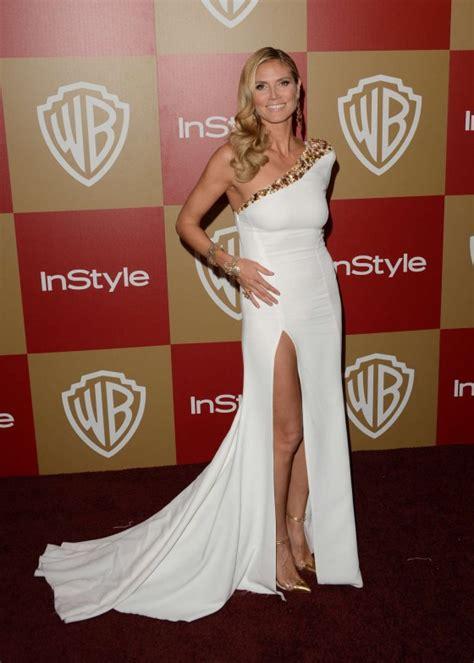 Ultra Heidi Klum Warner Bros Instyle Golden Globes