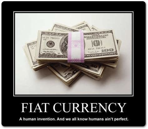 What Is Fiat Money In Economics by Fiat And The Abuse Of Using This Term Armstrong Economics