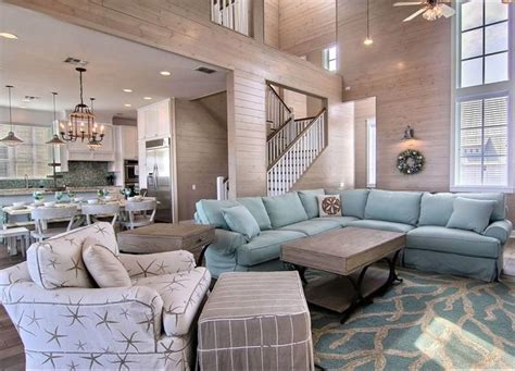 Best Choice Of Beach House Living Room Traditional