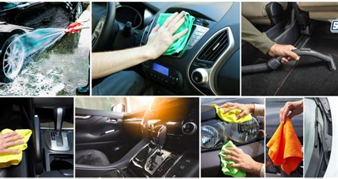 interior car cleaning products decoration how to take care of your car using the various car care