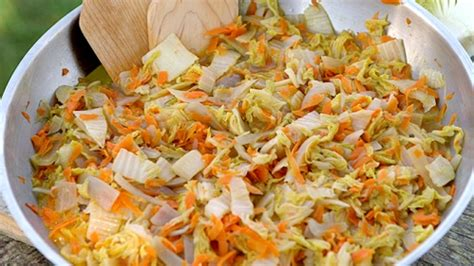 cuisiner le chou chinois cuit embeurré de chou