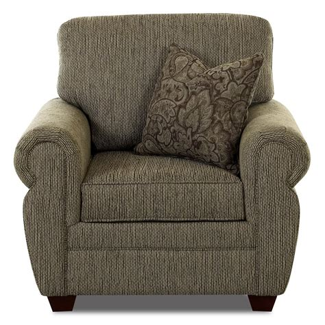 klaussner westbrook rolled arm chair johnny janosik