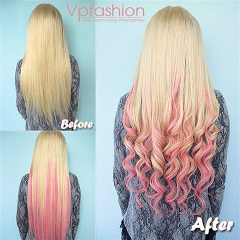 Springandsummer 2014 Hairstyles Inspirations Pink Dip Dye