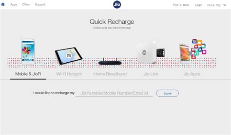 reliance jio packs for mobile and jiofi goandroid
