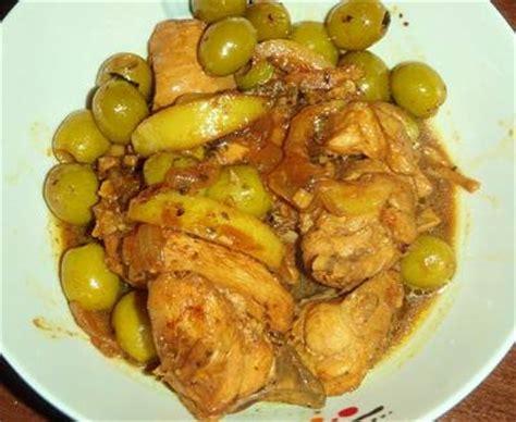 cuisine marocaine poulet aux olives poulet aux olives la recette du poulet aux olives