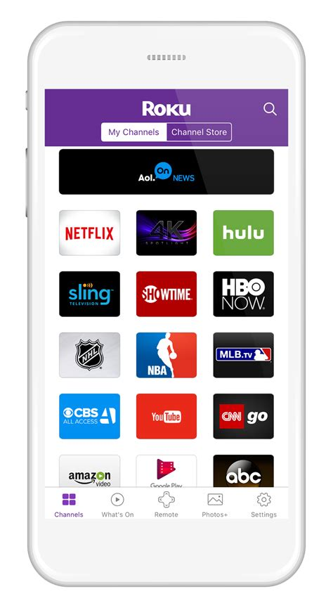 mobile app for android updated roku mobile app for ios and android get to the