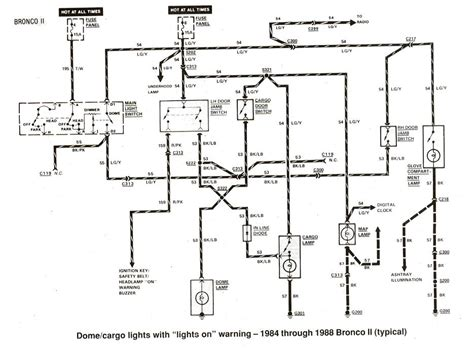 Wiring Diagram For 1988 Ford Ranger by Ford Ranger Wiring Diagrams The Ranger Station
