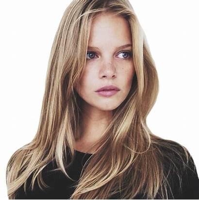 Hair Makeup Clipart Natural Blonde Bronde Face