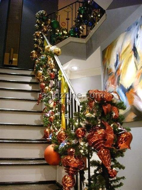 images  christmas stairs  pinterest
