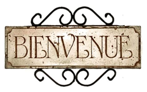 French Welcome Bienvenue Sign|French Wall Decor|French ...