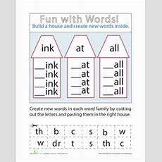 Make Words  Worksheet Educationcom