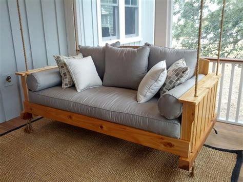 bed porch swing beautiful wooden swings corner