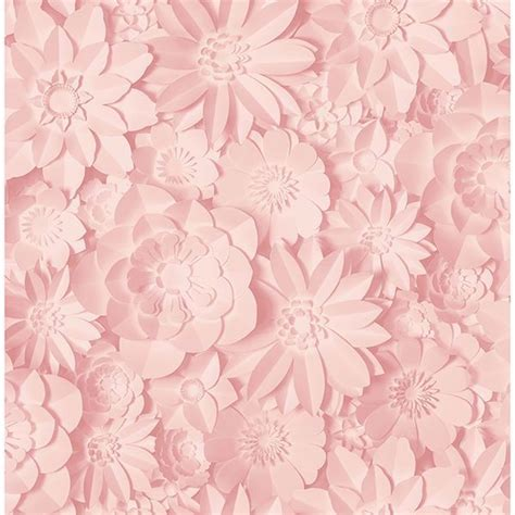 Wallpaper designs range in style from floral wallpaper and modern geometric patterns to classic plaids and animal prints. 2900-42555 - Dacre Pink Floral Wallpaper - by Fine Décor