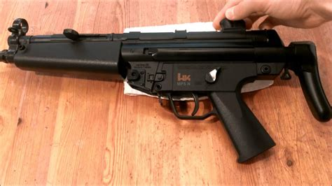 hk mp navy dual power airsoft aeg review shooting test youtube
