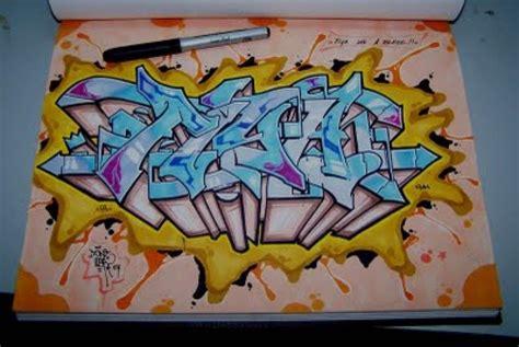 Graffiti Kertas 3d : Graffiti Bagi Pemula, Simak Tipsnya