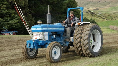 Ford 4610 Tractor  The 56th New Zealand Ploughing