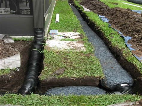 screw   french drain installation select