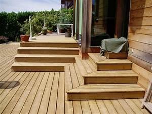 nivremcom plan escalier terrasse bois diverses idees With idee couleur escalier bois 10 pose de terrasses bois et composite