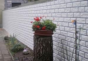Wpc Wandverkleidung Außen : mauerverkleidung im aussenbereich aus kunststoff ~ Frokenaadalensverden.com Haus und Dekorationen