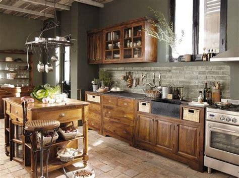 les 25 meilleures id 233 es de la cat 233 gorie cuisines rustiques sur cuisine rustique