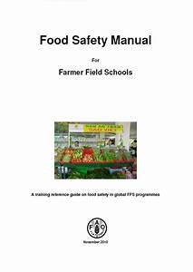 Food Safety Manual For Farmer Field Schools
