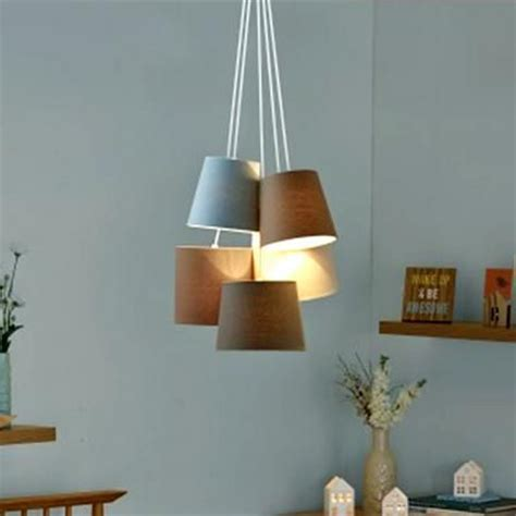l shade wide fitting ava 5 light shade cluster ceiling fitting dunelm the