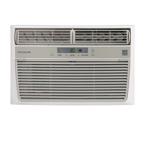air conditioner frigidaire 6500 btu room air conditioner shop frigidaire 6 500 btu 250 sq ft 115 volts window air conditioner energy at lowes