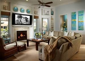 Coastal Living Davis Island Interior Design - Tropical