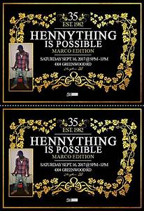 hennessy birthday invitations sean39s bday pinterest With hennessy label maker