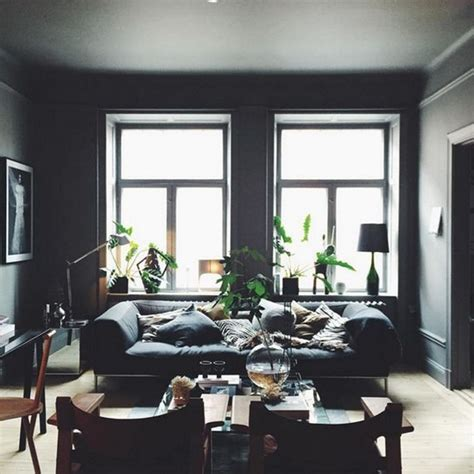 amazing dark moody living room decor ideas page