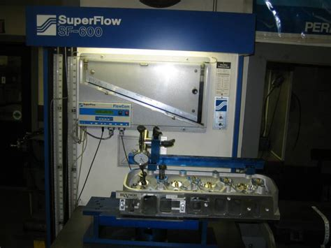Superflow Bench by Flow Cylinder Flow Testing Porting Ma
