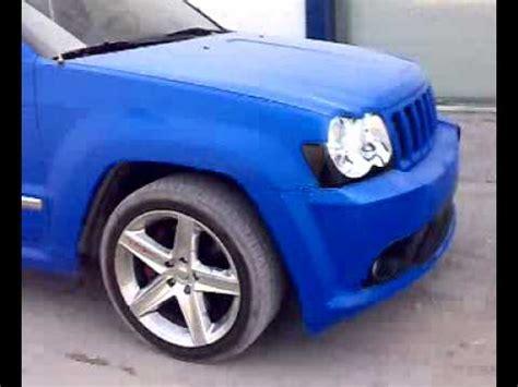 jeep matte blue matte blue jeep srt8 youtube
