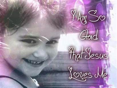 Jesus Am Glad Loves Christian Treasure Box