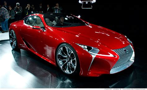 awesome lexus sports car cool cars from the detroit auto show lexus lf lc 3