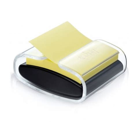 bureau distributeur postal distributeur de post it z notes noir et transparent