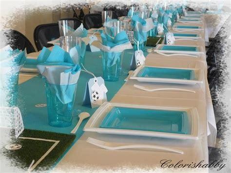 deco de table foot decoration anniversaire colorishabby