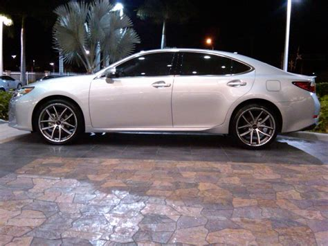 2013 lexus es350 with 20 inch lorenzo wl199 wheels