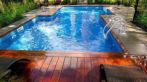 17 best images about creations de plani paysage on pinterest With amenagement paysager avec piscine creusee 11 amenagement spa jardin recherche google terrasse
