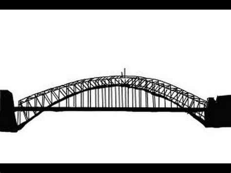 How to draw a bridge step by step - YouTube