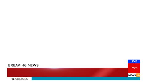 breaking news animation  effects template