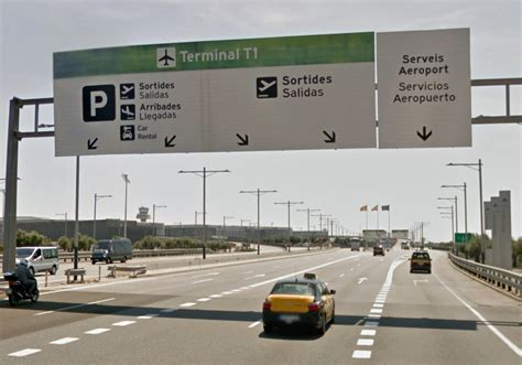 Returning a car hire to Barcelona Airport T1 | Travel Blog ...