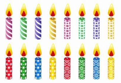 Clipart Candles Birthday Happy Candling Clip Clipground