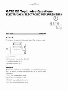 Electrical And Electronic Measurements Questions Pdf