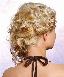 Updo Long Curly Formal Updo Hairstyle - Light Blonde ...