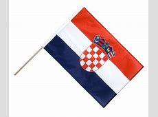 Stockflagge PRO Kroatien Flagge, kroatische 60 x 90 cm