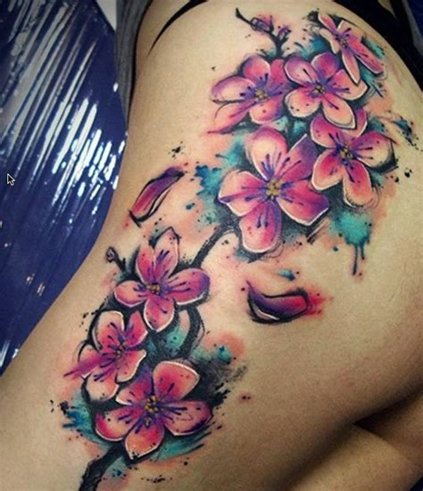 4 Famous Watercolor Tattoos